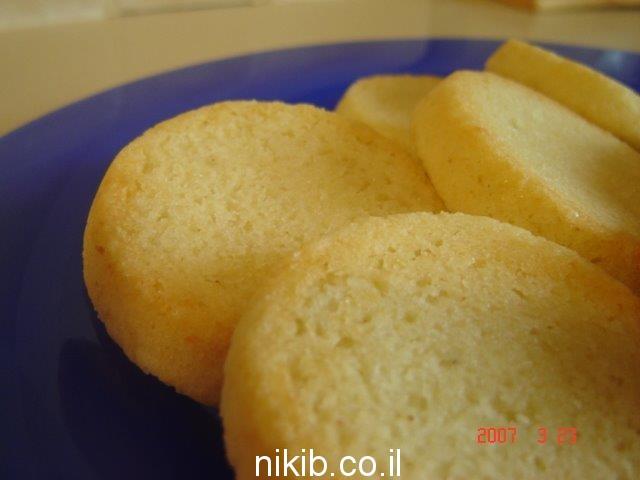 עוגיות קוקוס ושקדים
