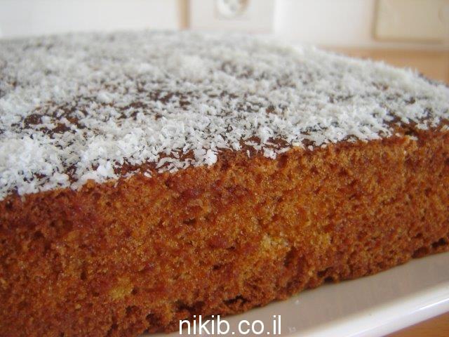 עוגת גזר וקינמון מעולה