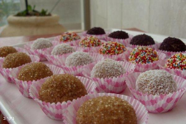 כדורי טחינה ומייפל / עוגיות למשלוח מנות