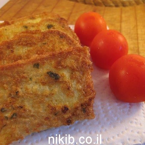 פרוסות לחם מתובלות