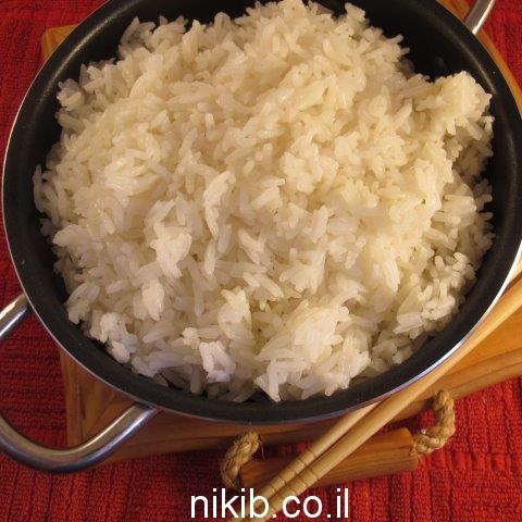 איך מכינים אורז לבן שיוצא אחד אחד ?