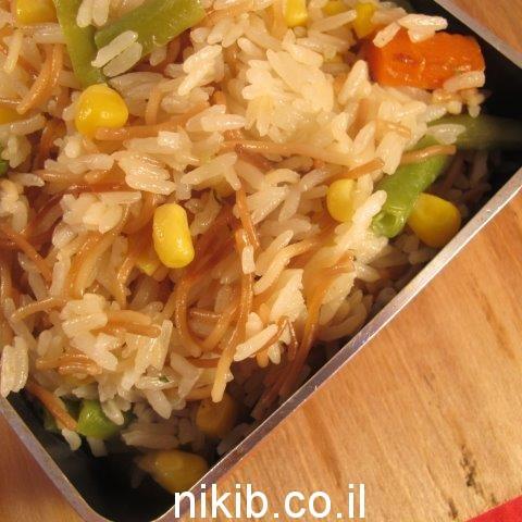 אורז ואטריות בסגנון סיני / ארוחת ערב שישי