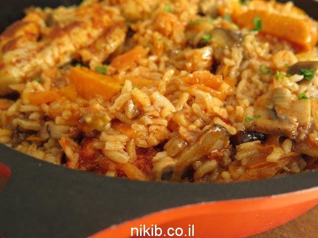 עוף עם אורז בתנור התבשיל המושלם / בישולים קלים לסוף השבוע