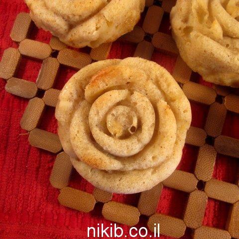 מאפינס תפוחים ושוקולד צ'יפס / בישולים קלים