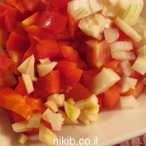 סלסת עגבניות