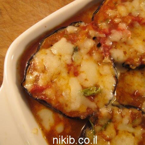 חצילים מוקרמים בתנור מעולה!