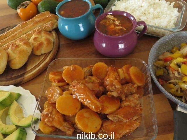ירקות מוקפצים / אוכל טעים וקל להכנה