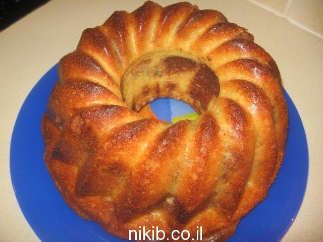 עוגת שיש רכה / בישולים קלים לשבת