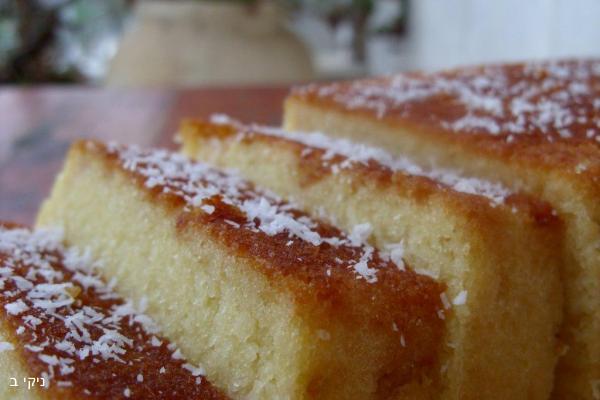 עוגת מרציפן / מתכונים בישולים לשבת