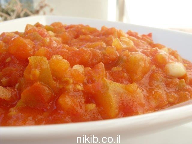 מרדומה - סלט עגבניות מבושל חריף / ארוחת שישי רעיונות ומתכונים