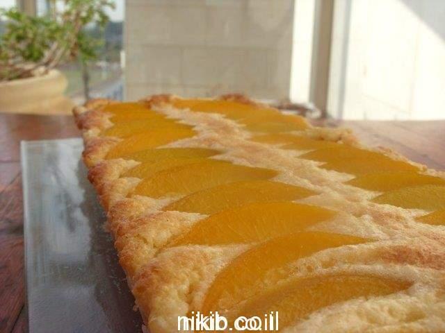 פאי אפרסקים וקרם שקדים / בישולים טעימים לשבת