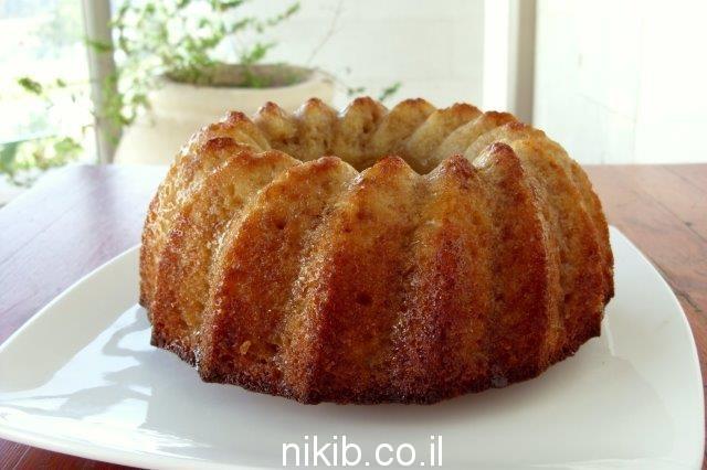 עוגת מייפל קפה / מה מבשלים לשישי שבת ?