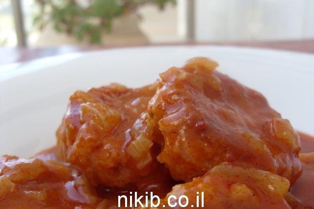 לביבות דלעת ברוטב דבש וקינמון