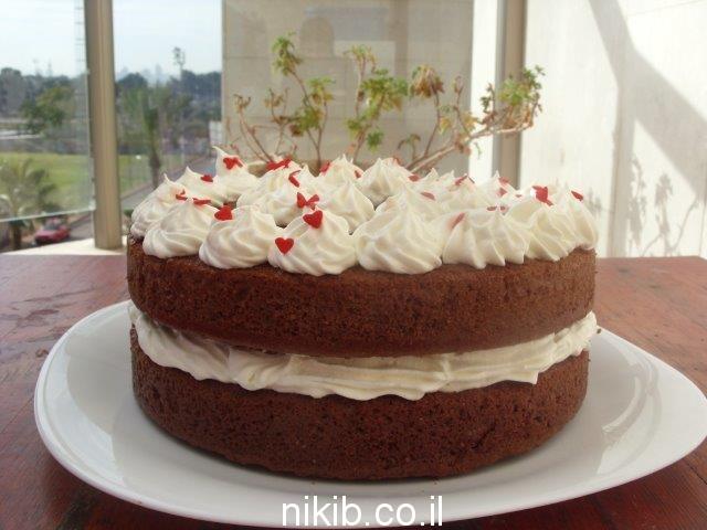 עוגת שוקולית שכבות