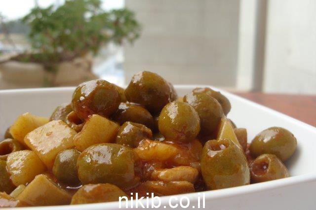 תפוחי אדמה עם זיתים ופטריות / מבשלים לשבת, סוף שבוע של דברים טובים