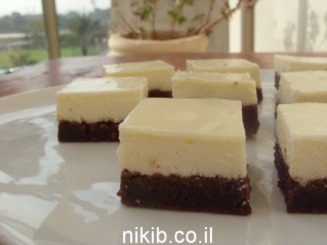 בראוניז שוקולד גבינה / ארוחה צמחונית קלה להכנה