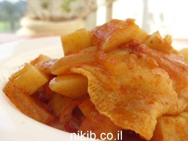 דג סול עם תפוחי אדמה