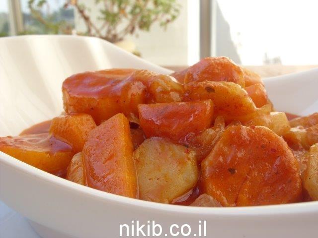 ירקות ברוטב צ'ילי מתוק / הגיע הזמן לבשל את ארוחת שישי