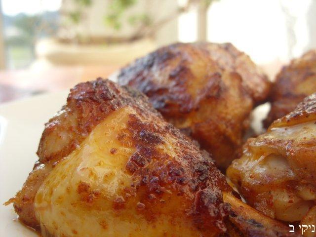 עוף צלוי בתנור / ארוחה לפורים