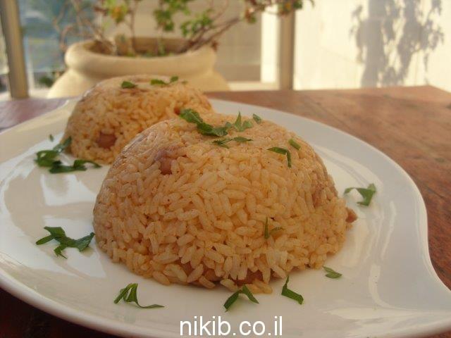 פרגיות עם אורז