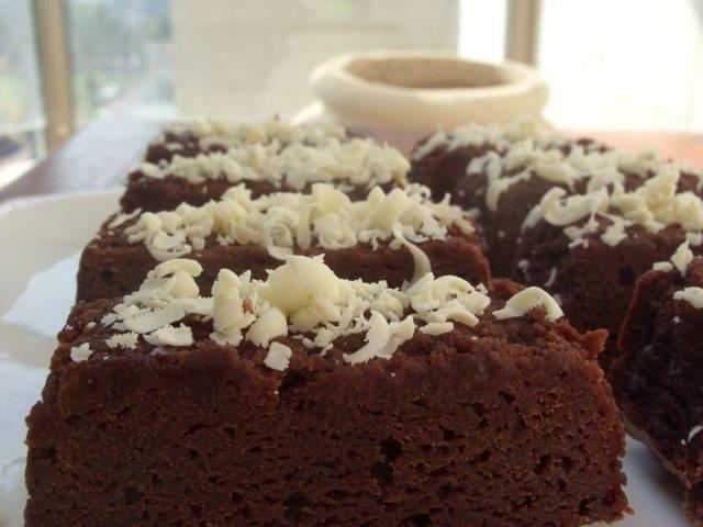 עוגת פאדג' שוקולד / בישולים קלים לשבת