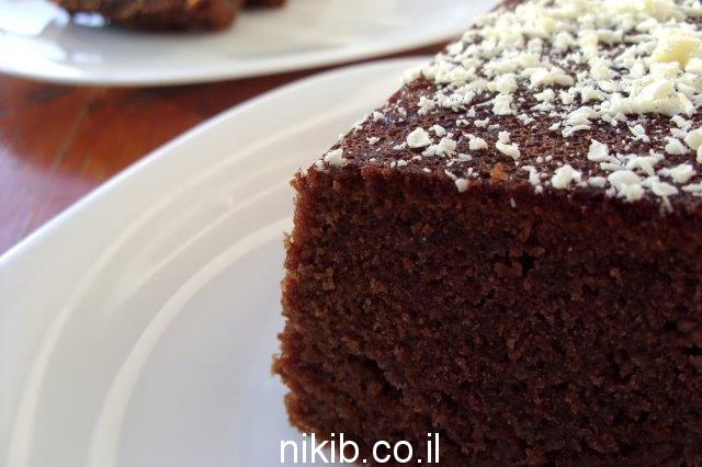 עוגת שוקולית חלבה