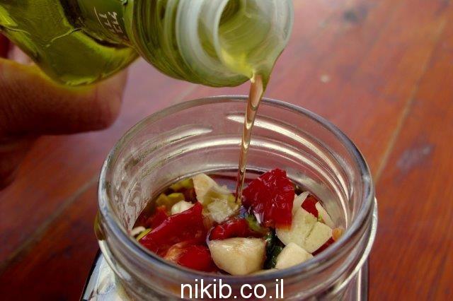 מתכון לעגבניות מיובשות בשמן זית טעים / שישי טעים!