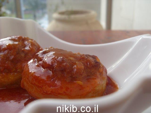 מתכון ללבבות ארטישוק ממולא בשר טעים