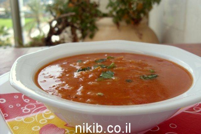 מרק עגבניות / ארוחת שישי רעיונות ומתכונים