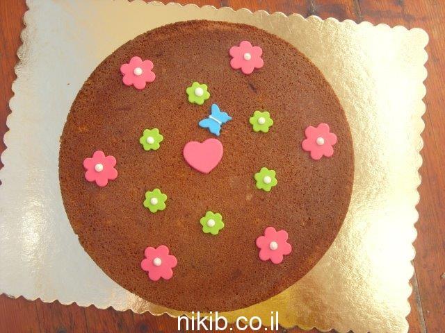 עוגת שיש גדולה