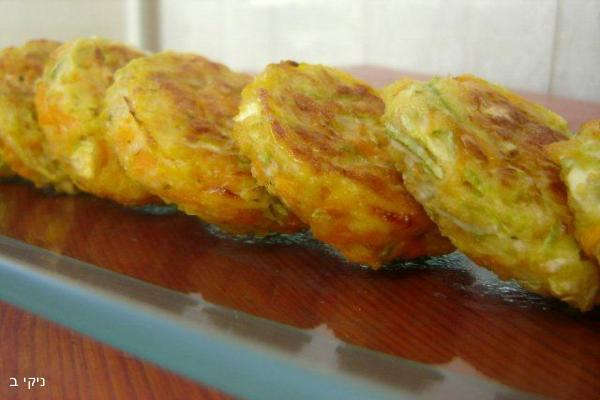 לביבות ירק אפויות / מה מתחשק לבשל לארוחת שישי ?