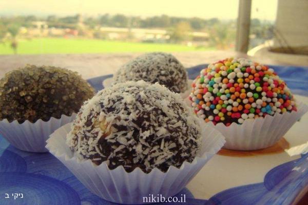 כדורי תמרים / עוגיות למשלוח מנות