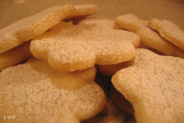 עוגיות חמאה / עוגיות למשלוח מנות