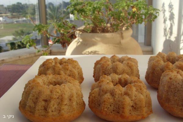 מאפינס חלבה וקינמון / עוגיות למשלוח מנות